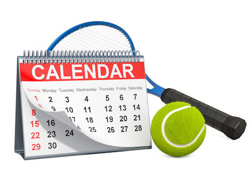Brookstone Tennis Calendar of events