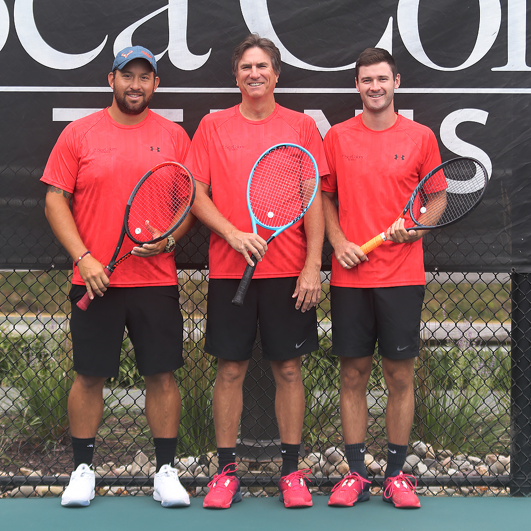 Sea Colony's team of certified tennis pros can elevate the games of players of all ages and skill levels