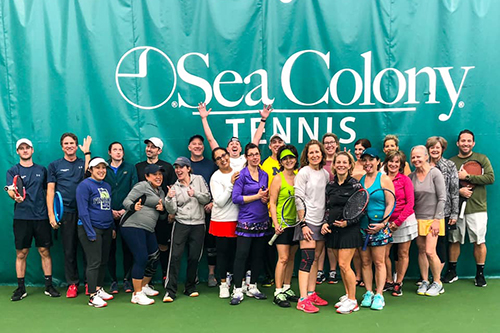 Sea Colony Tennis Weekend Camps